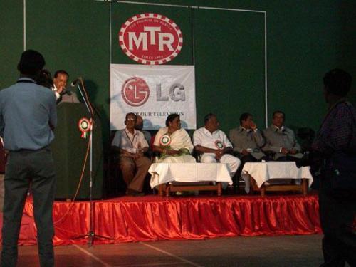 1. Bangalore - Turnier Eroeffnungsfeier 07