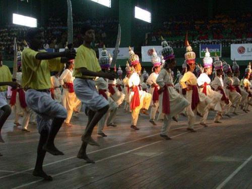 1. Bangalore - Turnier Eroeffnungsfeier 09
