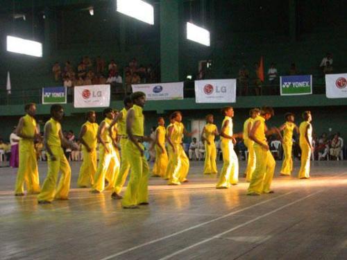 1. Bangalore - Turnier Eroeffnungsfeier 16